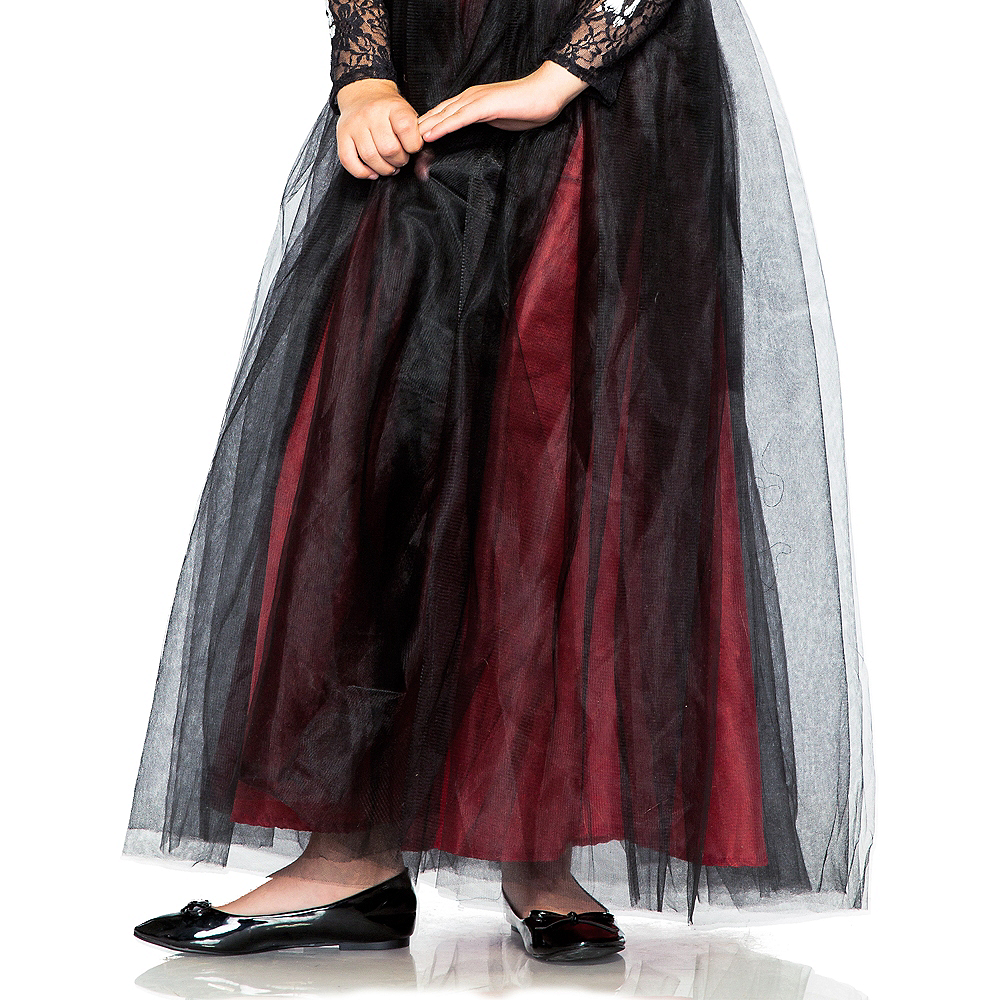 Child Lacy Day of the Dead Costume Image #5
