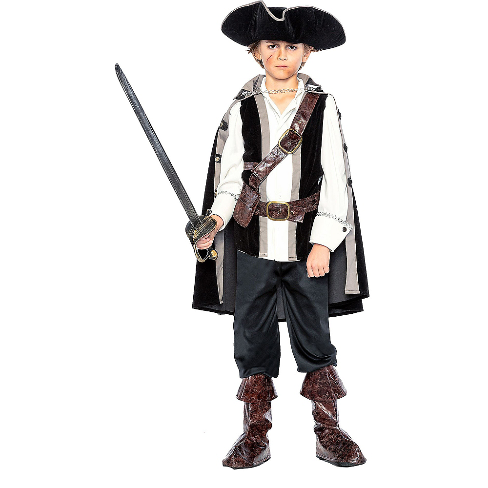 Child Pirate Captain Costume Image #1