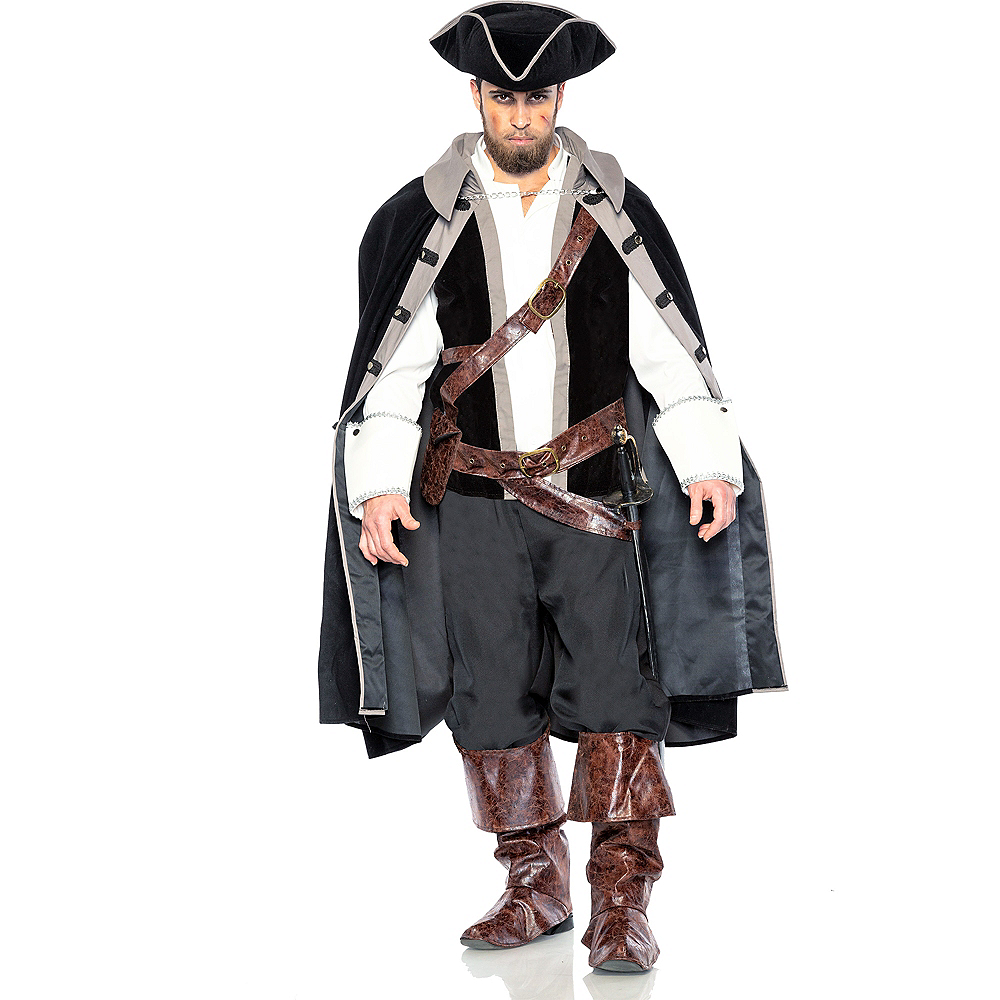 Adult Pirate Captain Costume Image #1