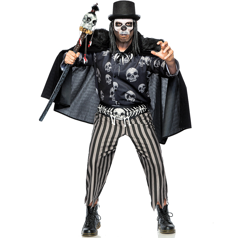 Nav Item for Adult Voodoo Legba Costume Image #1