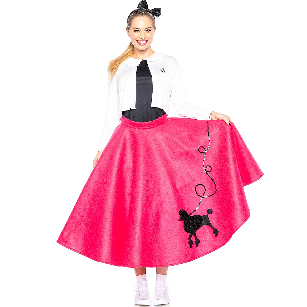 Adult Poodle Skirt 50s Costume Image #1