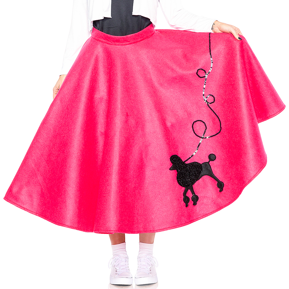 Adult Poodle Skirt 50s Costume Image #3