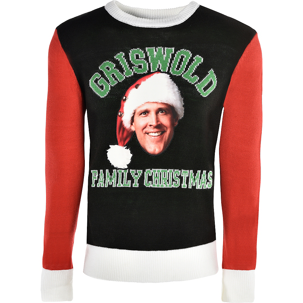 Adult Xmas Vacation Ugly Christmas Sweater Image #1