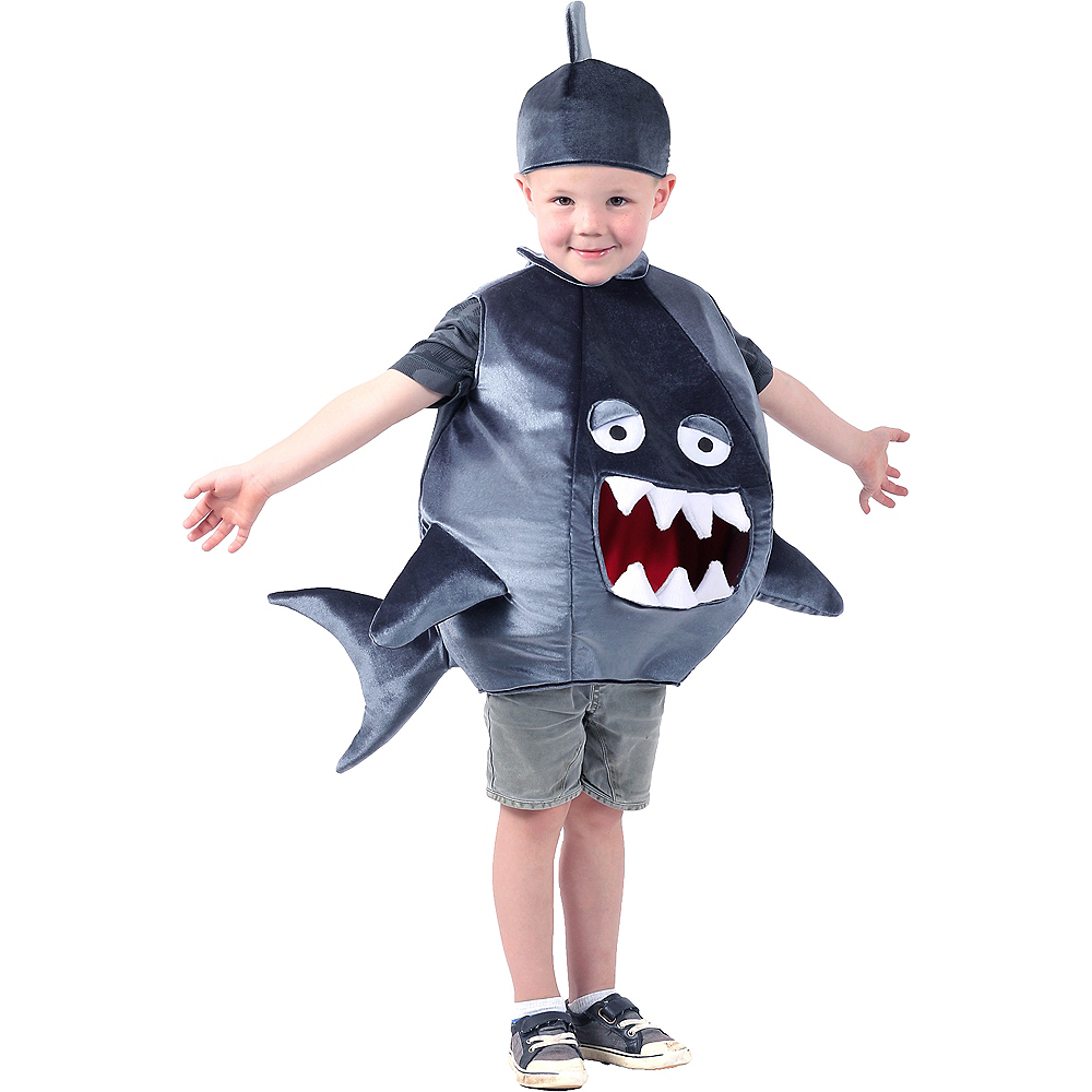 Child Feed Me Shark Costume Image #1