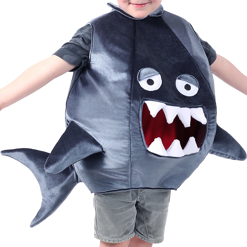 Nav Item for Child Feed Me Shark Costume Image #3