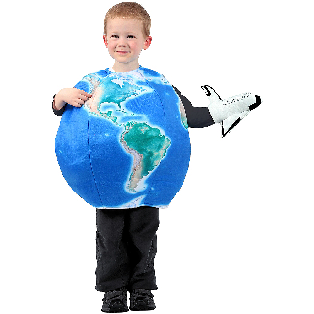 Child Earth in Space Costume Image #1