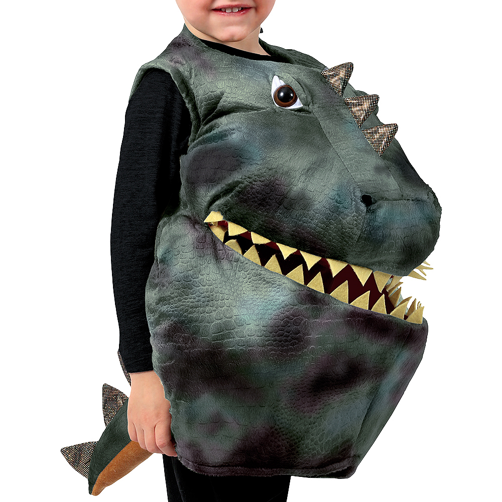 Child Feed Me Dinosaur Costume Image #2