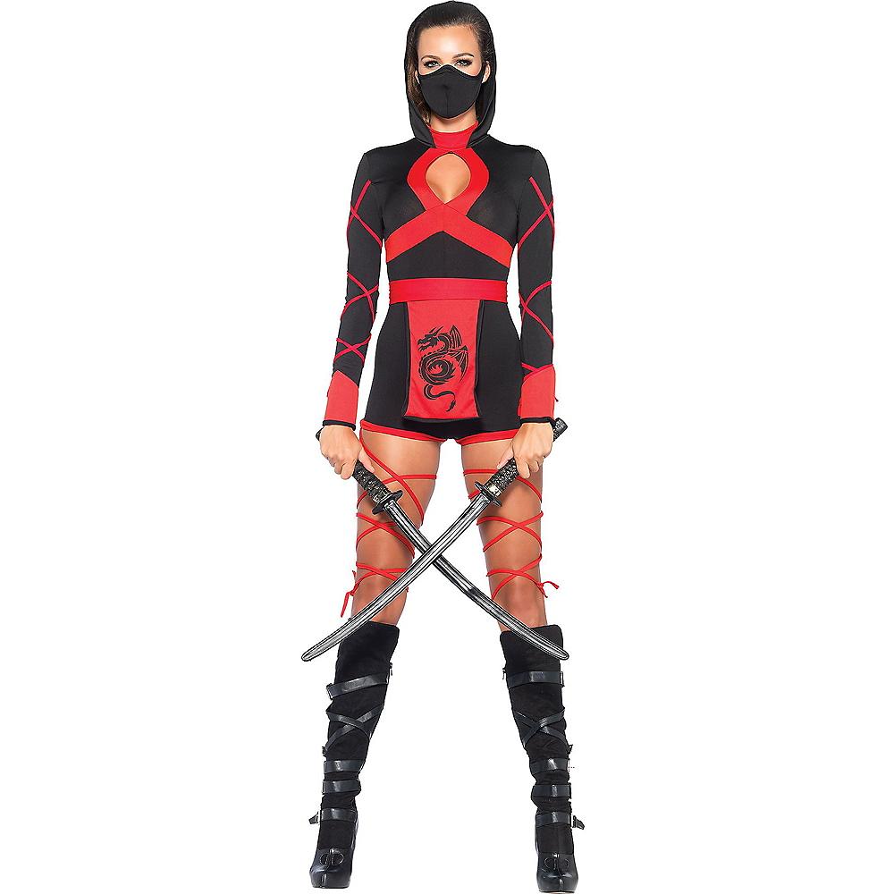 Adult Dragon Ninja Costume Image #1