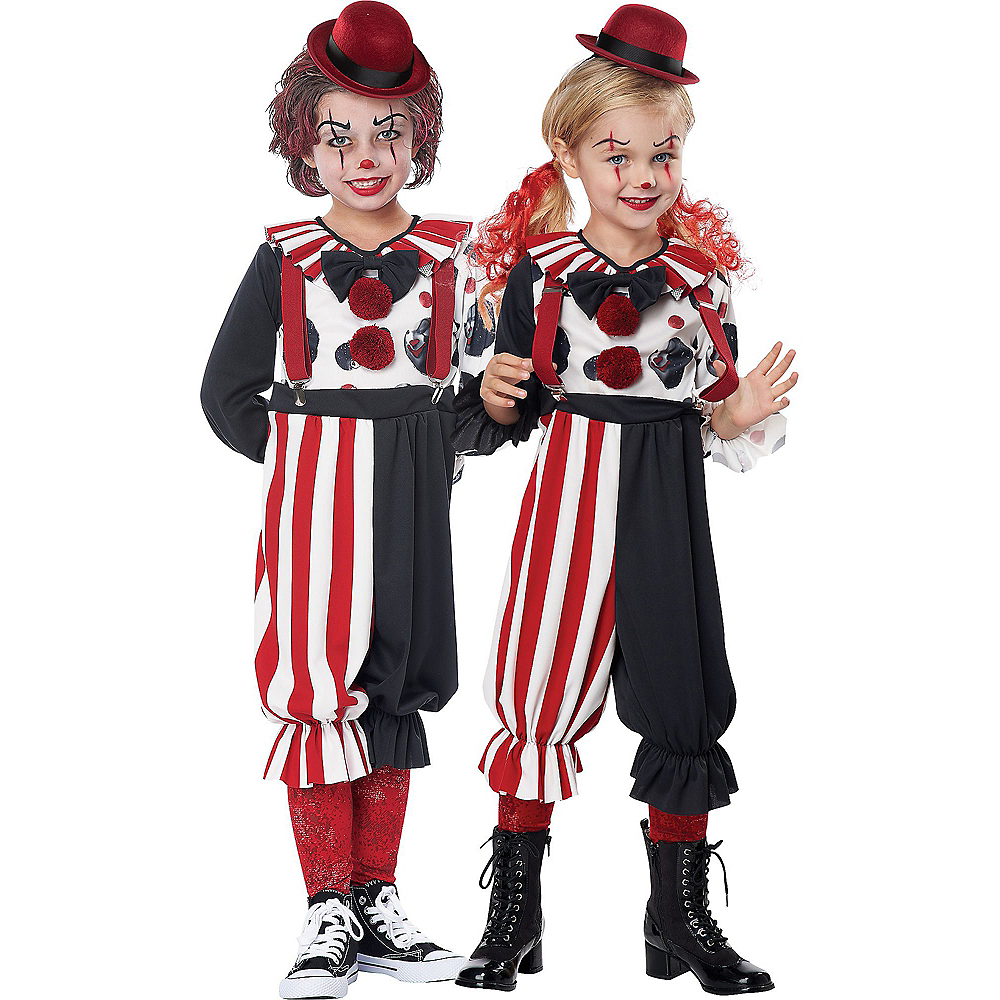 Child Kreepy Clown Costume Image #1