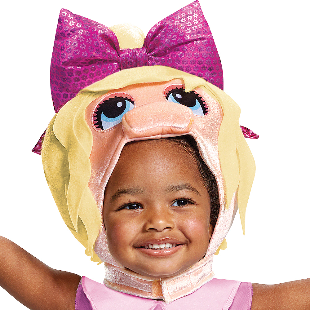 Toddler Miss Piggy Costume - Muppet Babies Image #2