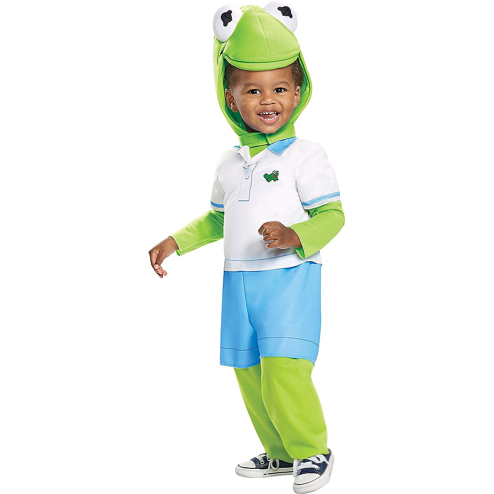 Toddler Kermit the Frog Costume - Muppet Babies Image #1