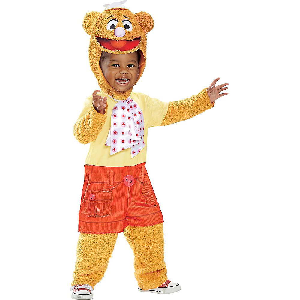 Toddler Fozzie Bear Costume - Muppet Babies Image #1