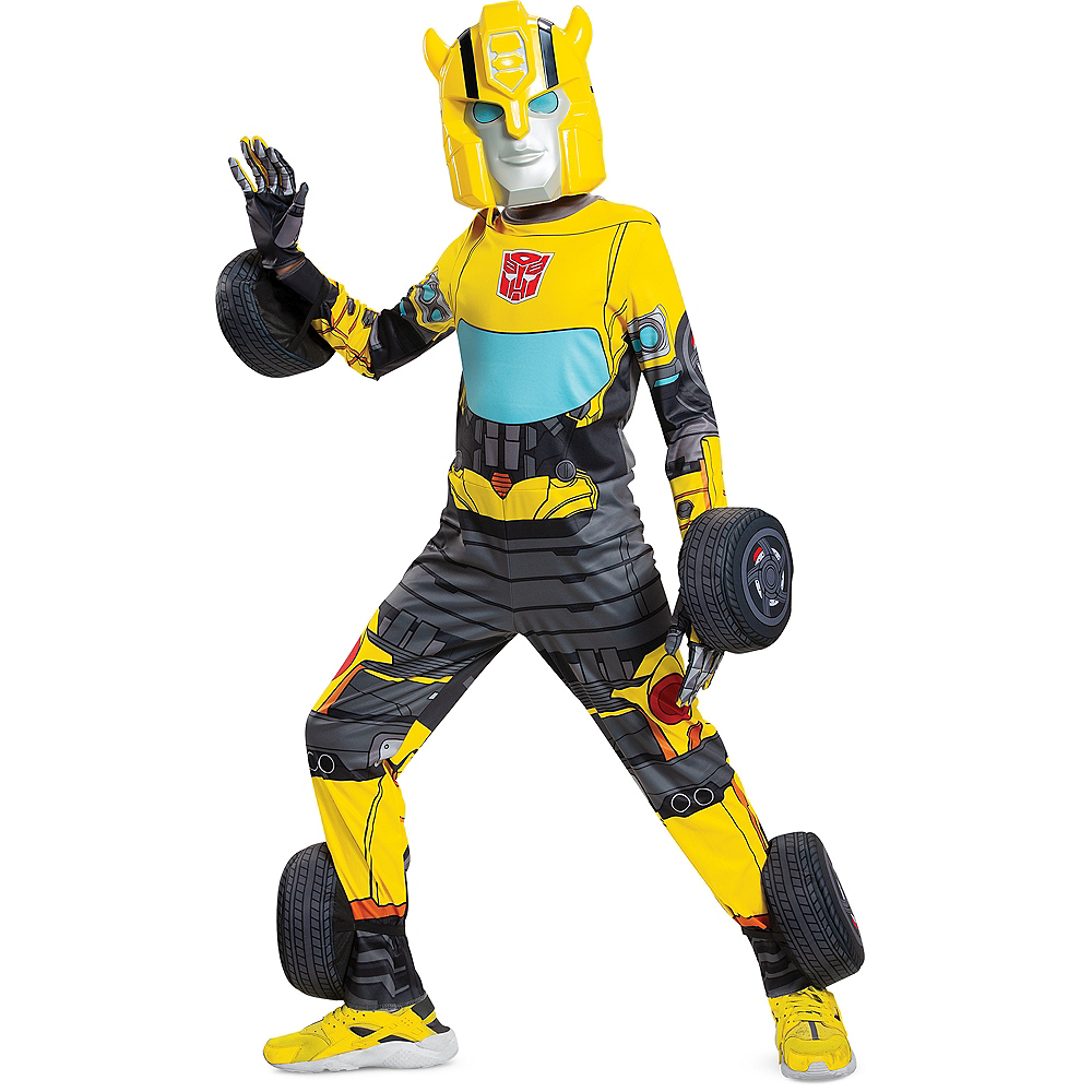 Child Transforming Bumble Bee Costume - Transformers Image #1