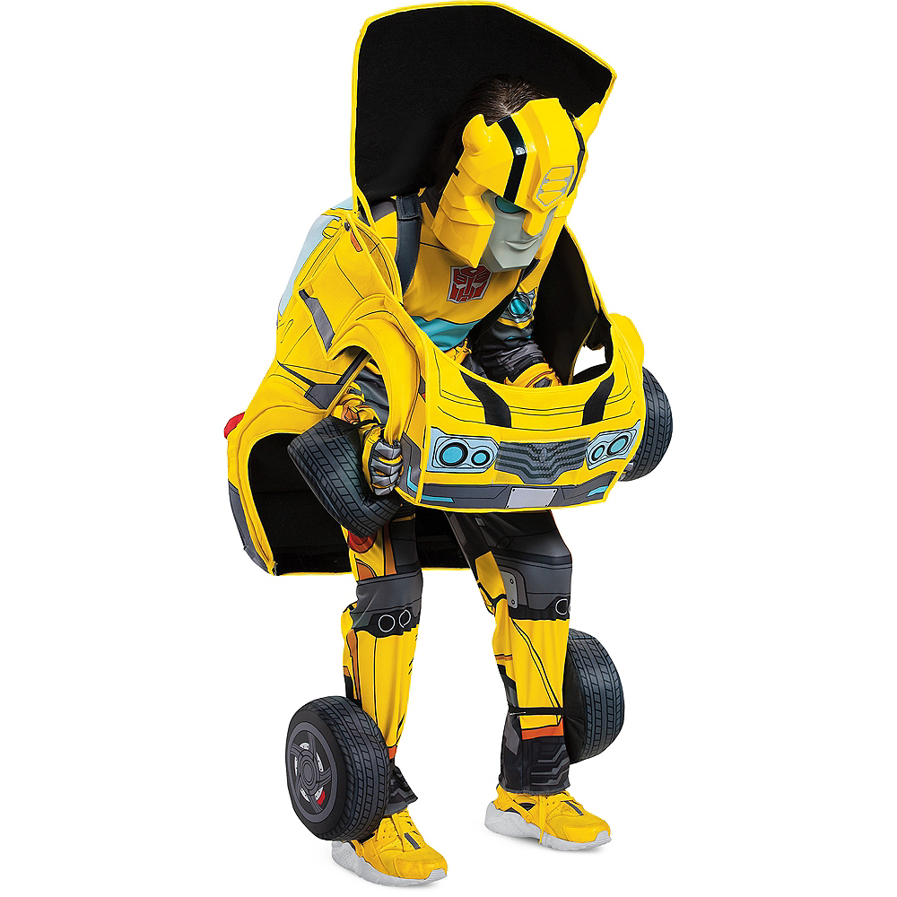 Child Transforming Bumble Bee Costume - Transformers Image #3