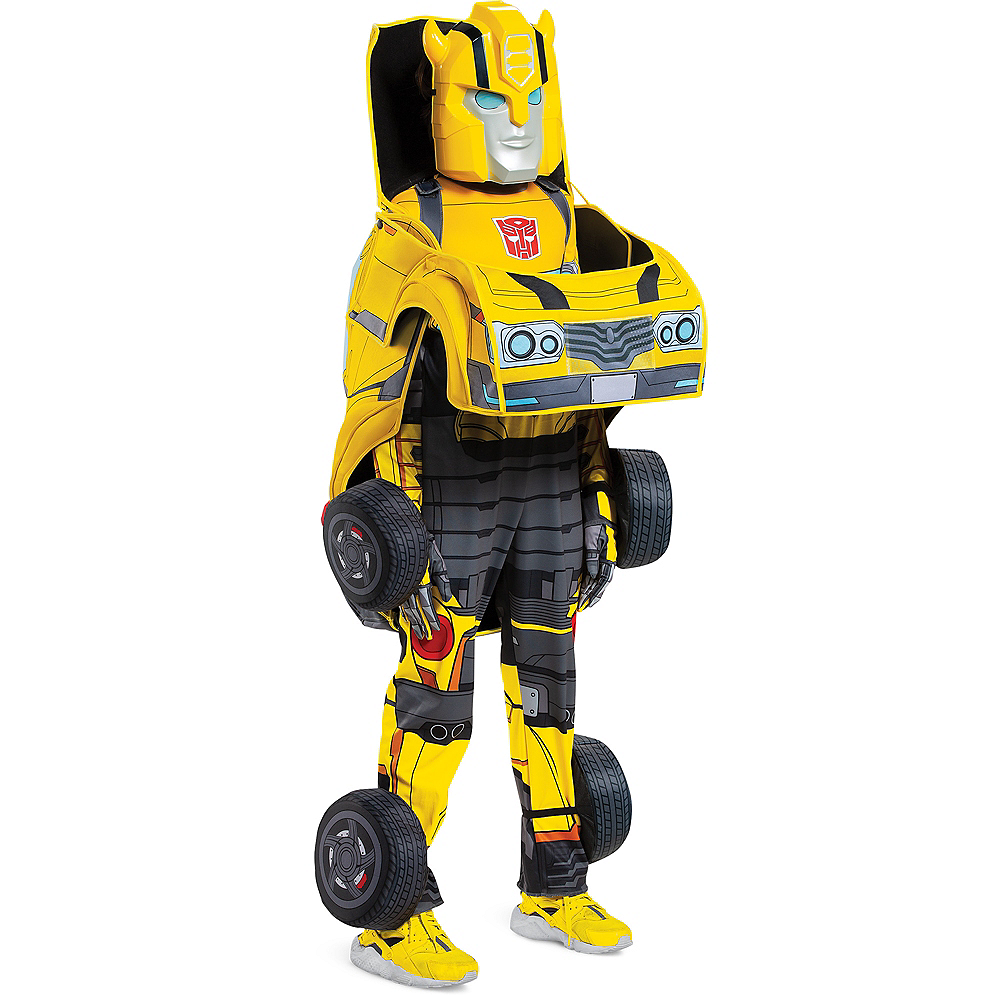 Child Transforming Bumble Bee Costume - Transformers Image #6