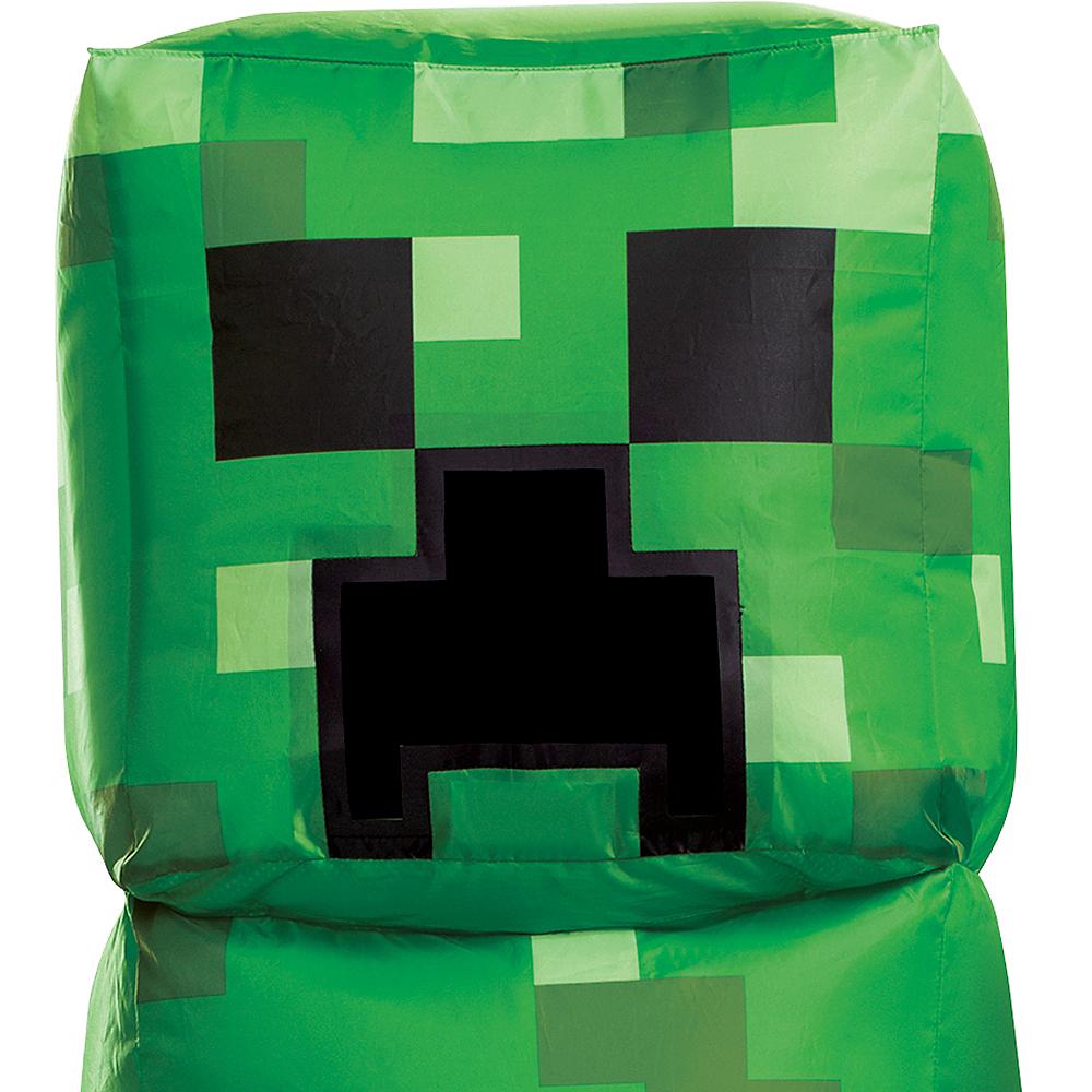 Child Inflatable Creeper Costume - Minecraft Image #2