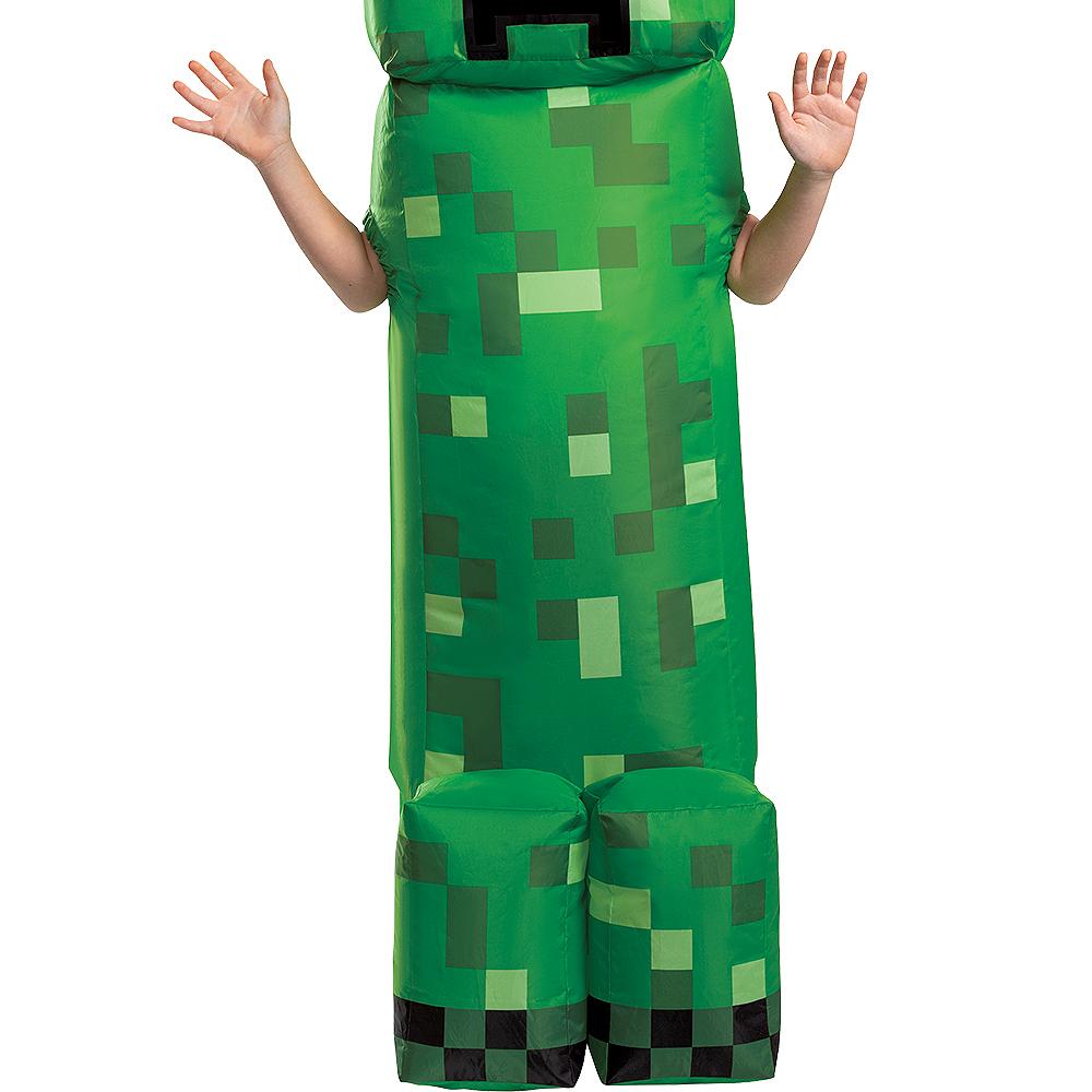Child Inflatable Creeper Costume - Minecraft Image #3