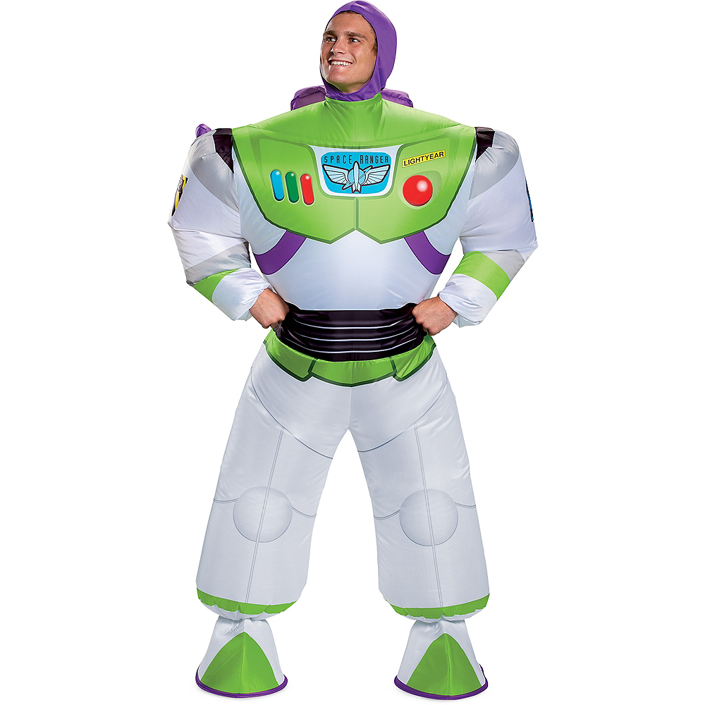 Adult Inflatable Buzz Lightyear Costume - Toy Story 4 Image #1