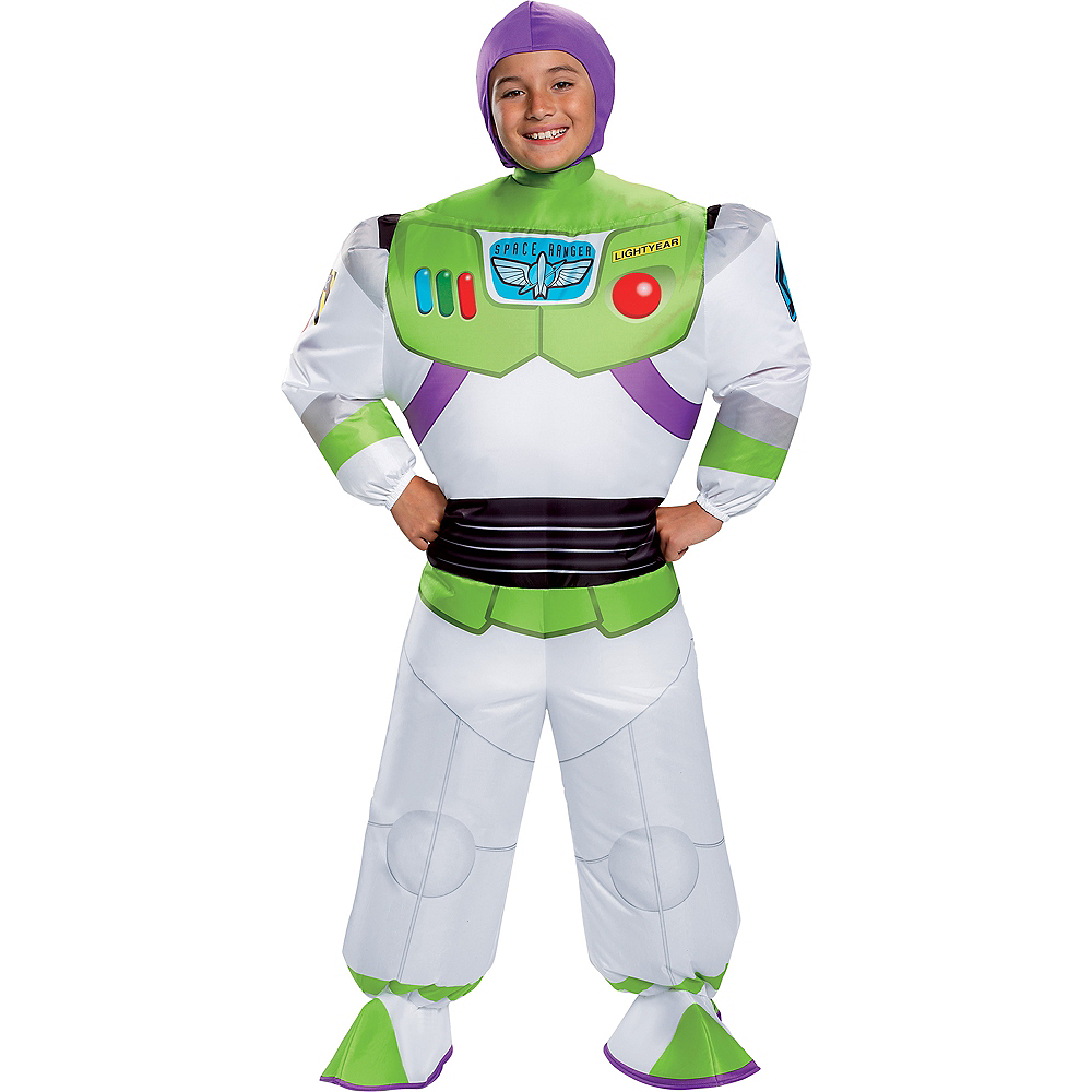 Child Inflatable Buzz Lightyear Costume - Toy Story 4 Image #1