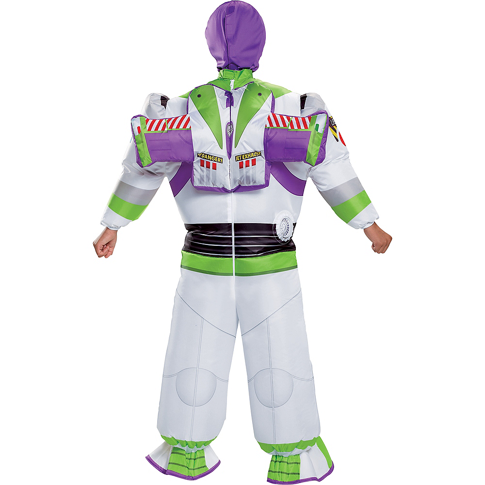 Child Inflatable Buzz Lightyear Costume - Toy Story 4 Image #2