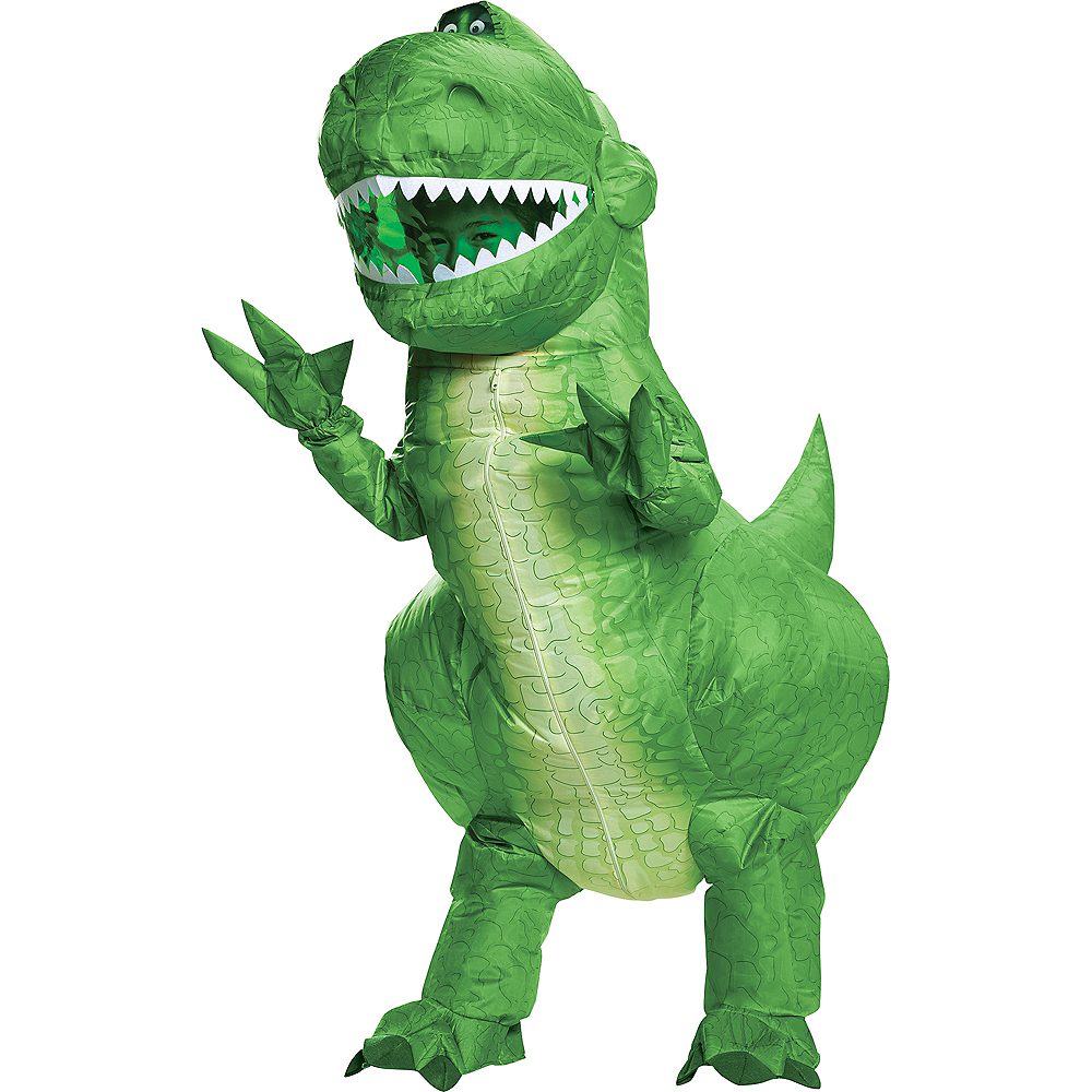 Child Inflatable Rex Costume - Toy Story 4 Image #1