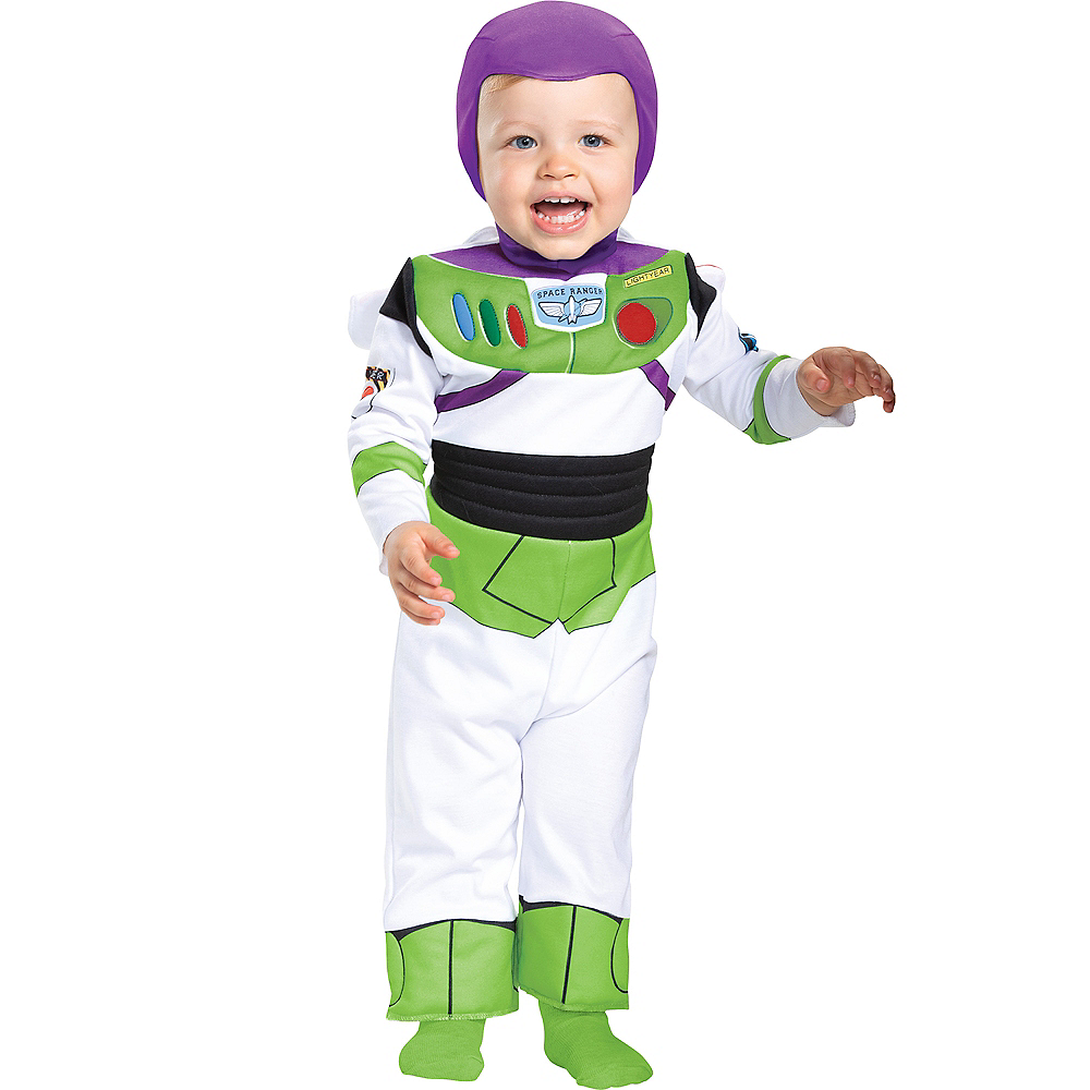 Nav Item for Baby Buzz Lightyear Costume - Toy Story 4 Image #1