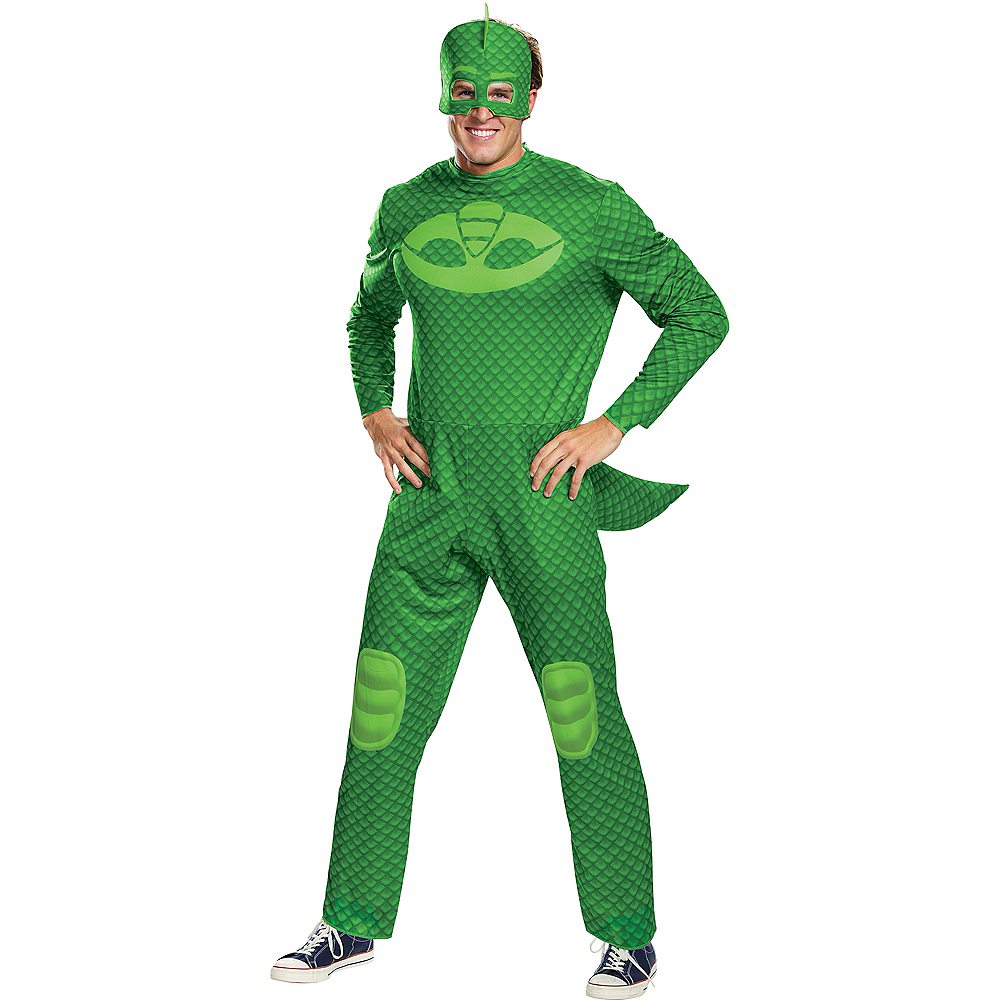 Adult Gekko Costume - PJ Masks Image #1