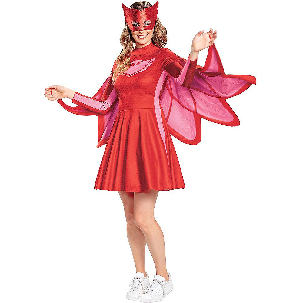 Adult Owlette Costume - PJ Masks Image #1