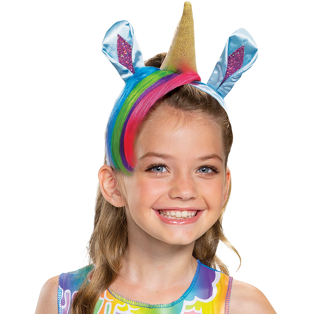 Child Rainbow Brightstar Costume - Poopsie Slime Surprise Unicorn Image #2