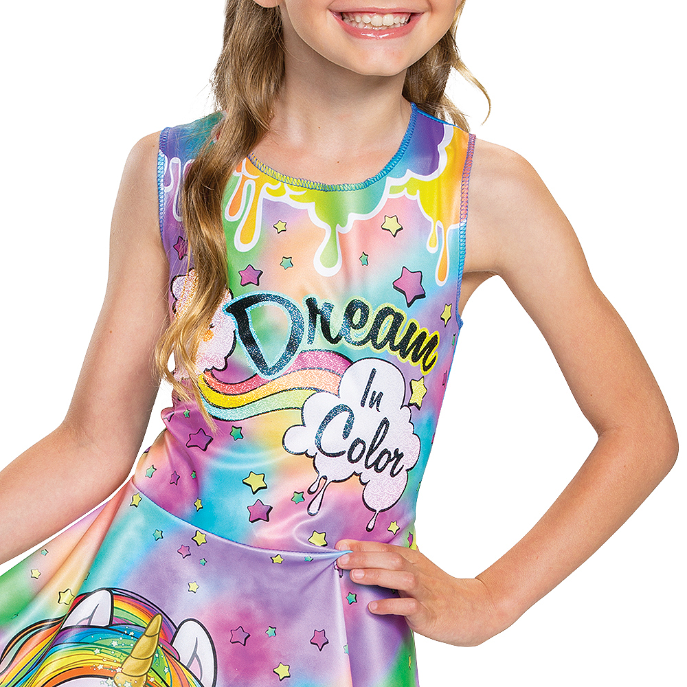 Child Rainbow Brightstar Costume - Poopsie Slime Surprise Unicorn Image #3