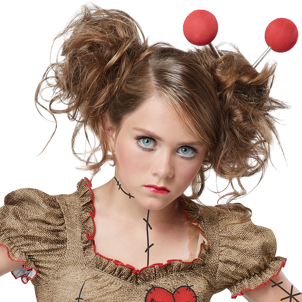 Child Voodoo Dolly Costume Image #2