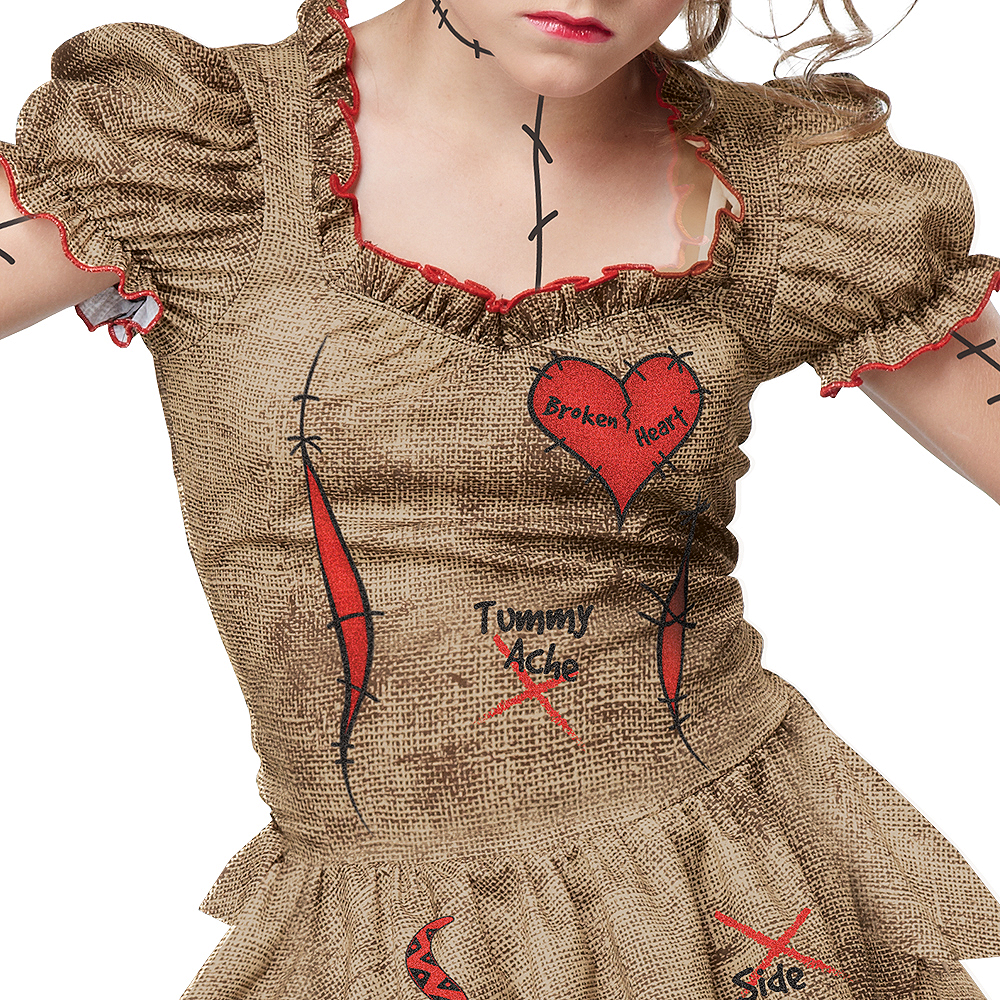 Child Voodoo Dolly Costume Image #3
