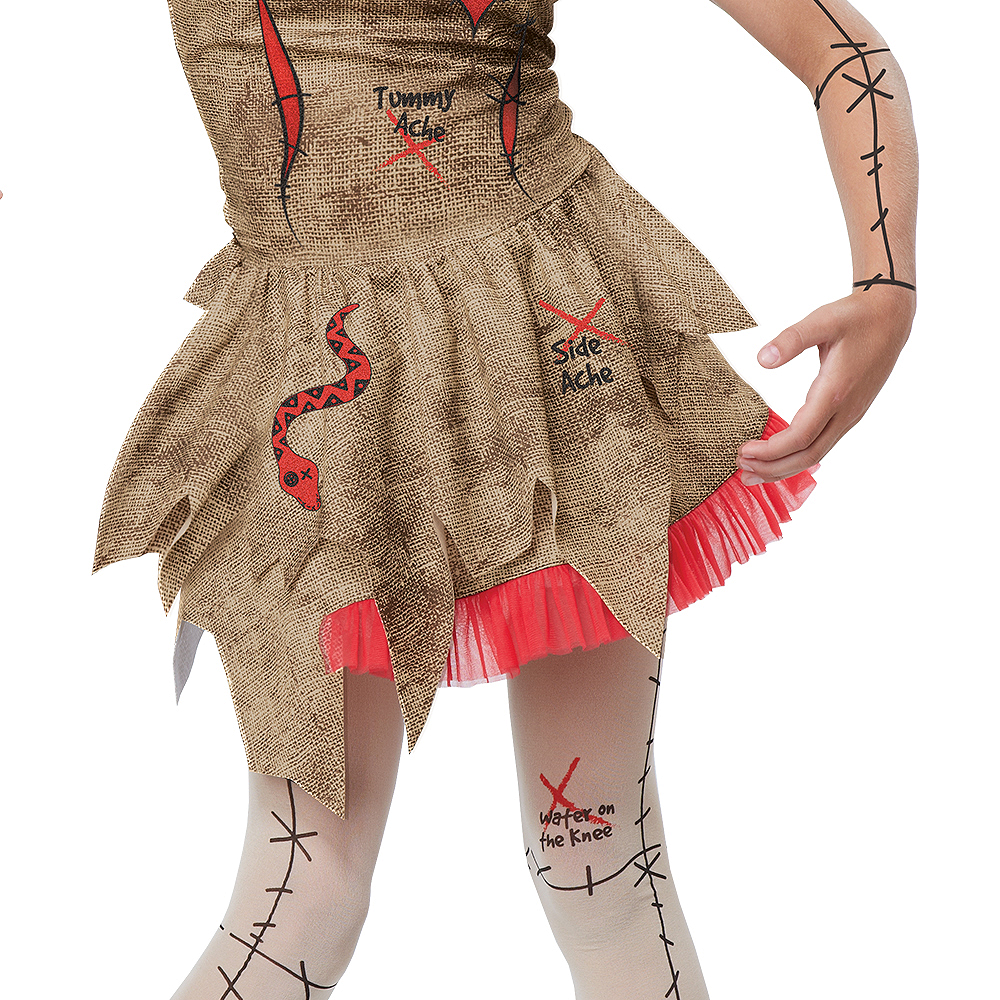 Child Voodoo Dolly Costume Image #4