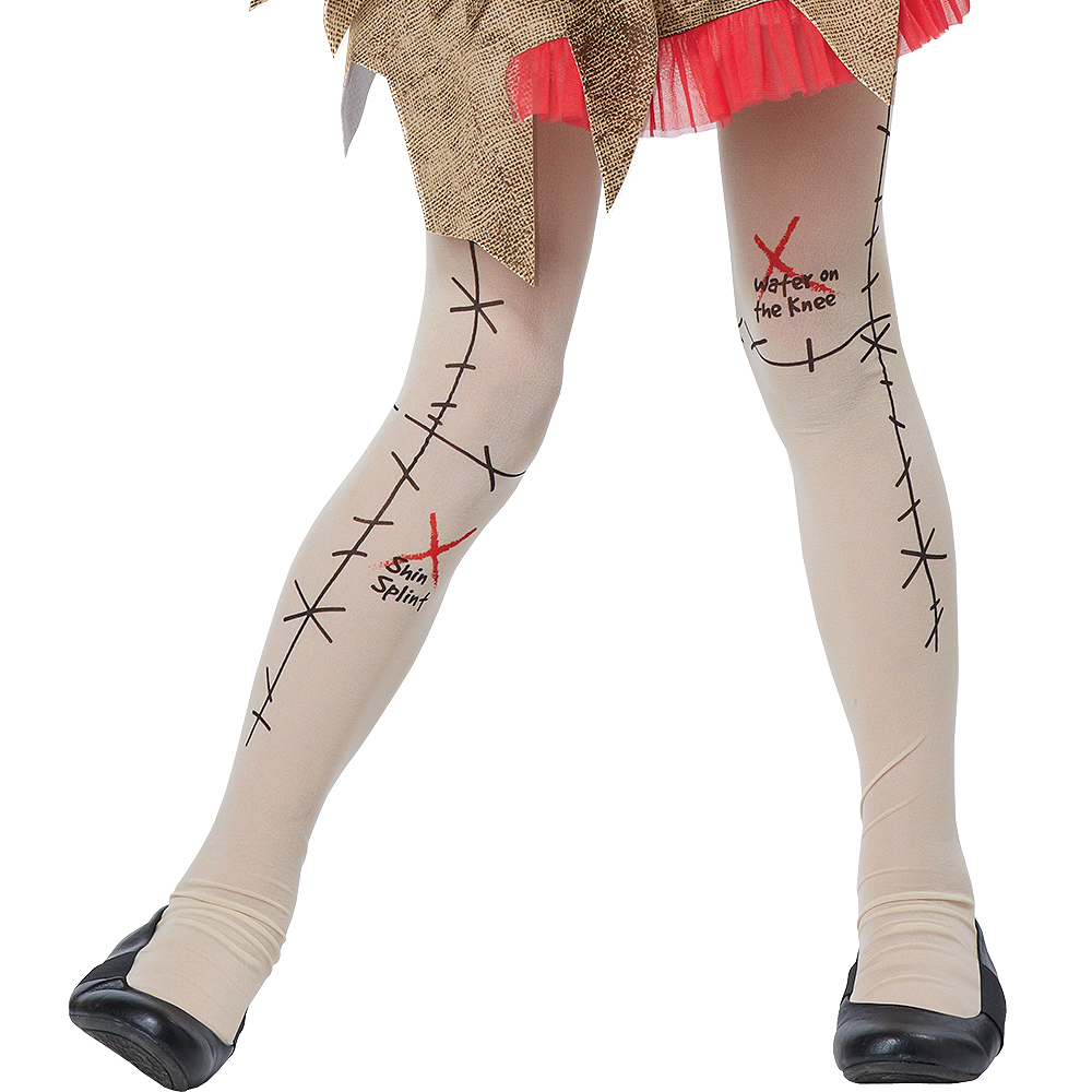Child Voodoo Dolly Costume Image #5