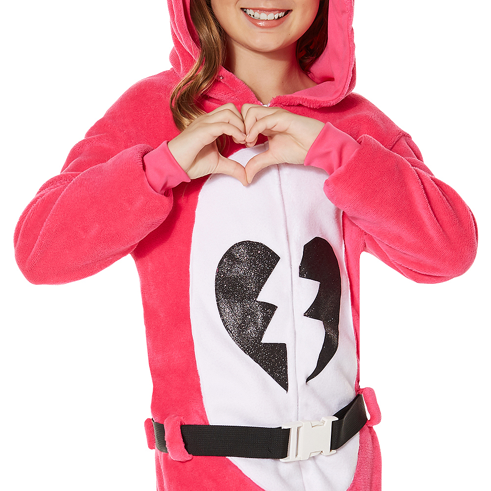 Child Zipster Cuddle Team Leader One Piece Costume - Fortnite Image #3