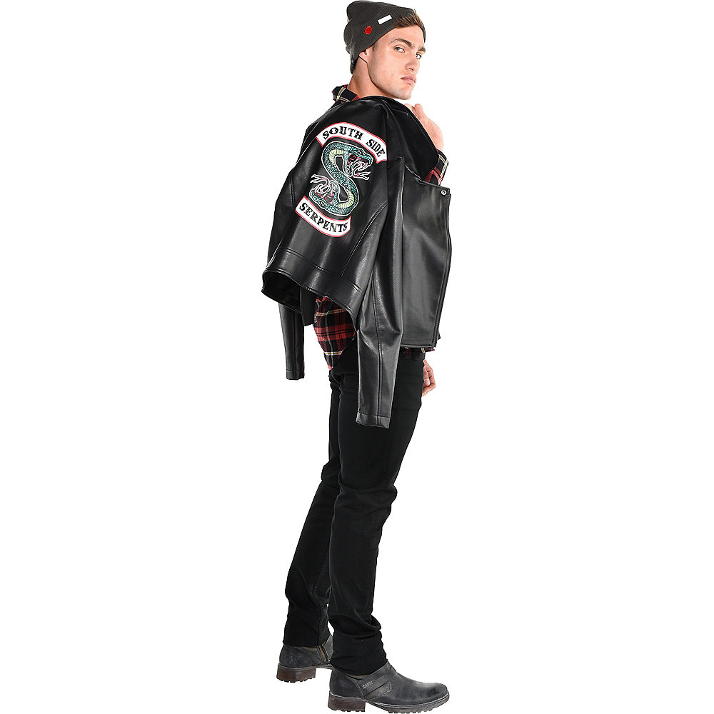 Adult Black Southside Serpents Jacket Image #2