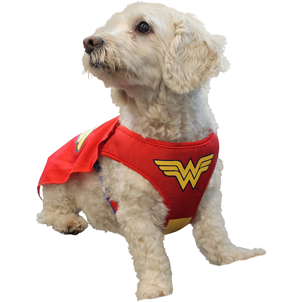 Nav Item for Wonder Woman Dog Costume - DC Comics Image #1