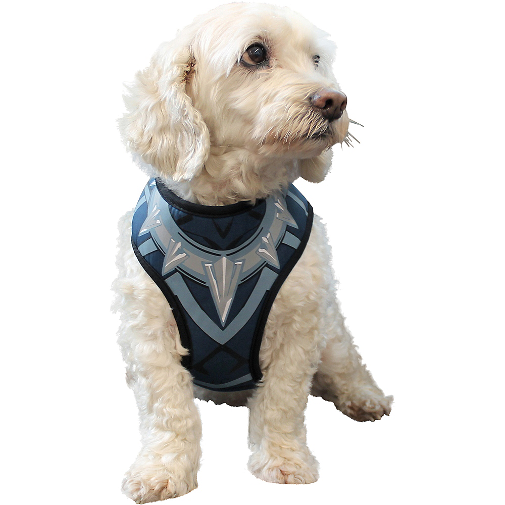 Black Panther Dog Harness Vest - Marvel Comics Image #1
