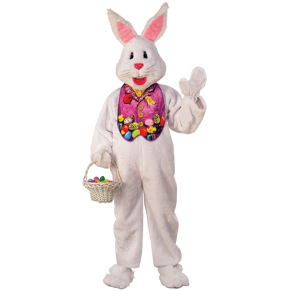 Adult Easter Bunny Suit Costume Image #1