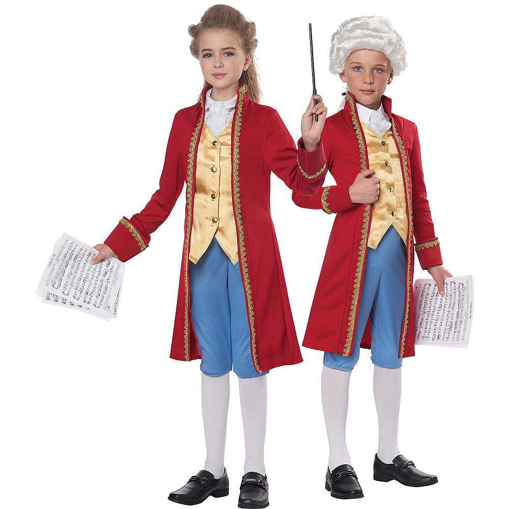 Child Amadeus Mozart Costume Image #1