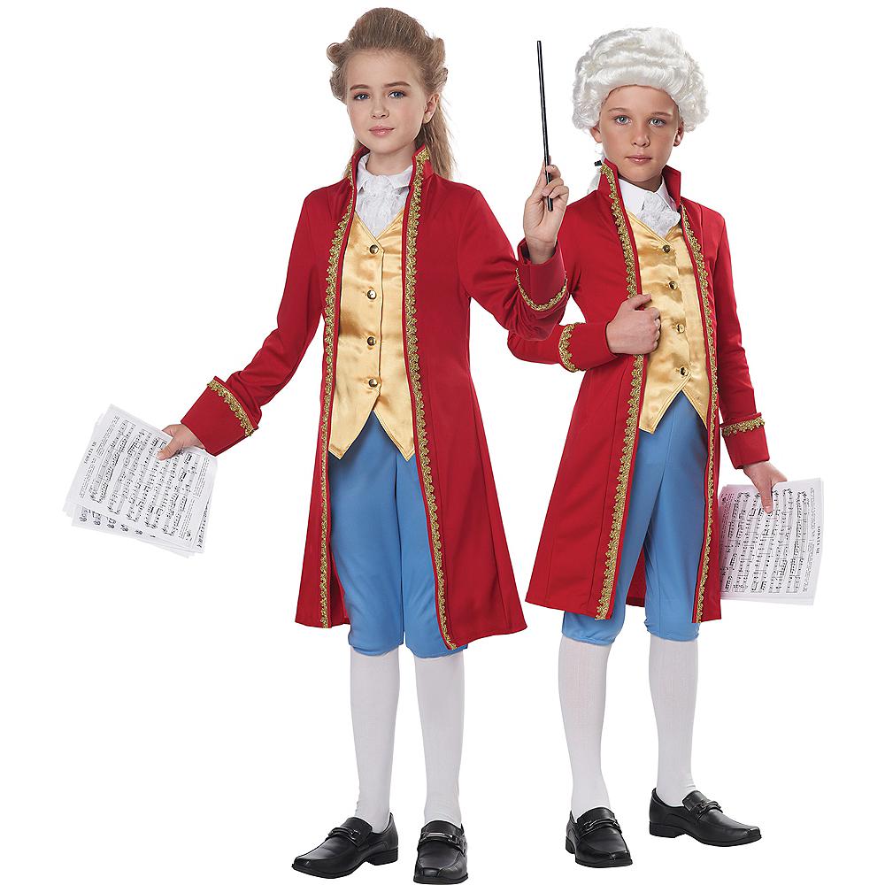 Child Amadeus Mozart Costume Image #1