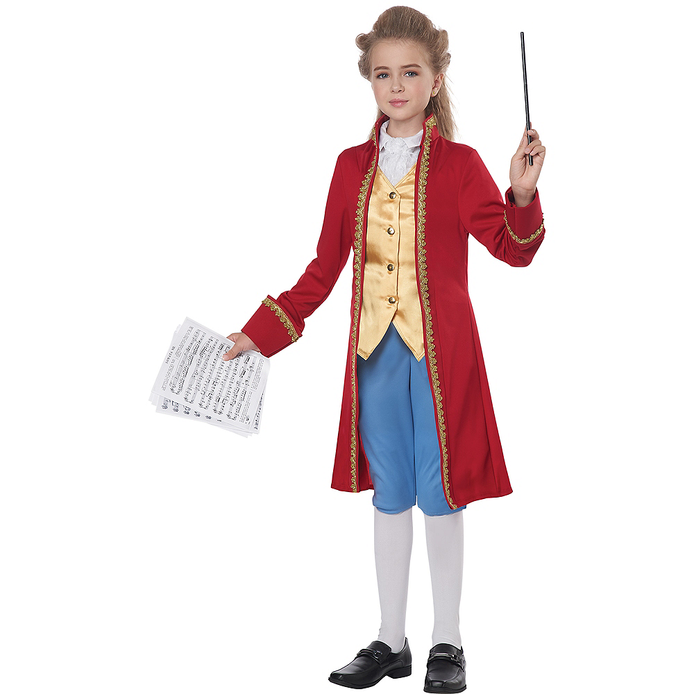 Child Amadeus Mozart Costume Image #2