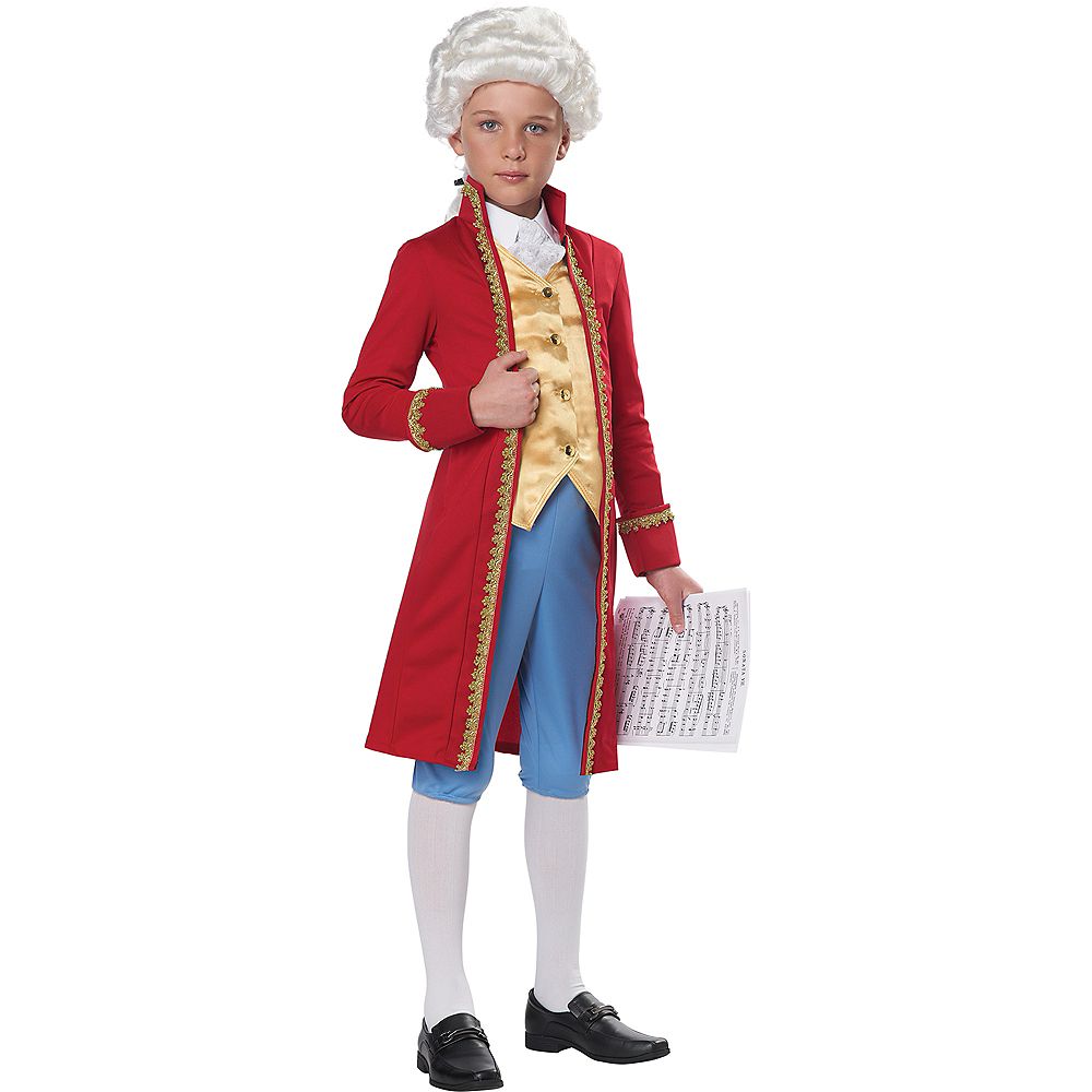 Child Amadeus Mozart Costume Image #3