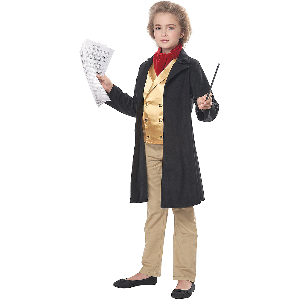 Nav Item for Child Ludwig Van Beethoven Costume Image #2