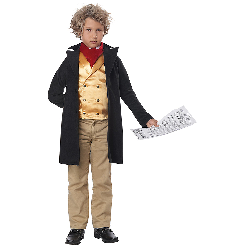 Nav Item for Child Ludwig Van Beethoven Costume Image #3