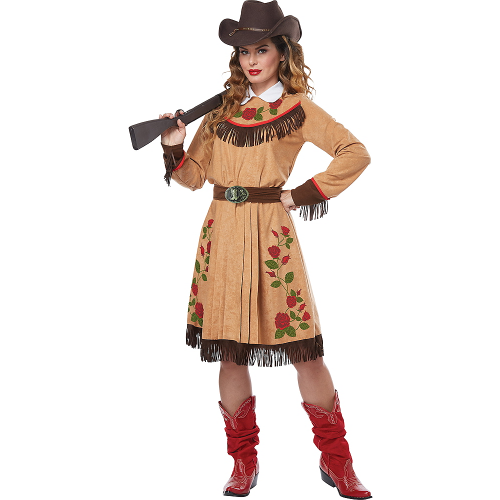Nav Item for Adult Annie Oakley Costume Image #1