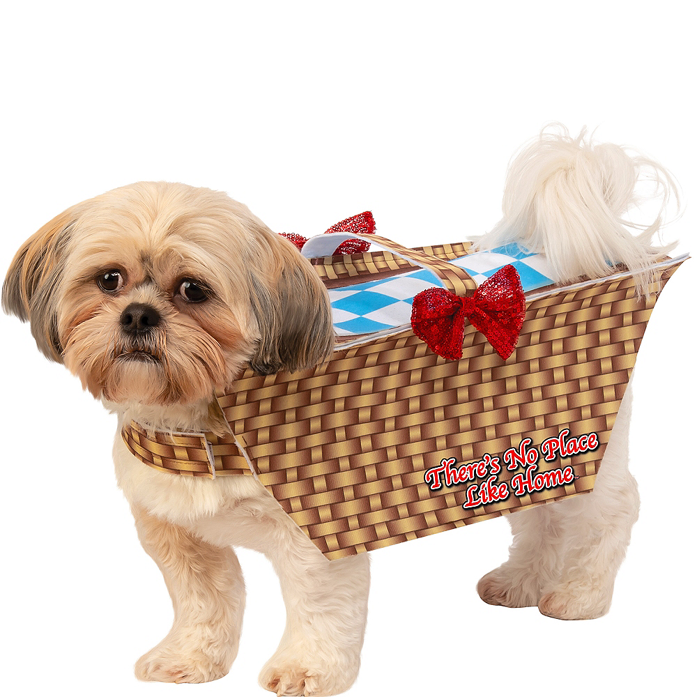Toto In Basket Dog Costume - Wizard of Oz Image #1