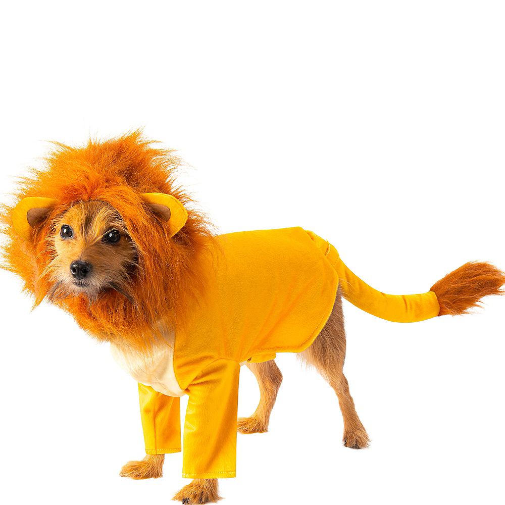 Simba Dog Costume - The Lion King Image #1