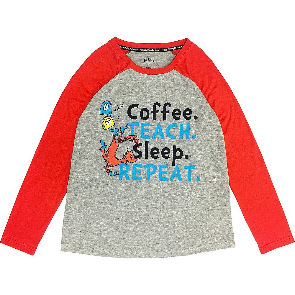 Dr. Seuss Coffee Long-Sleeve Shirt Image #1