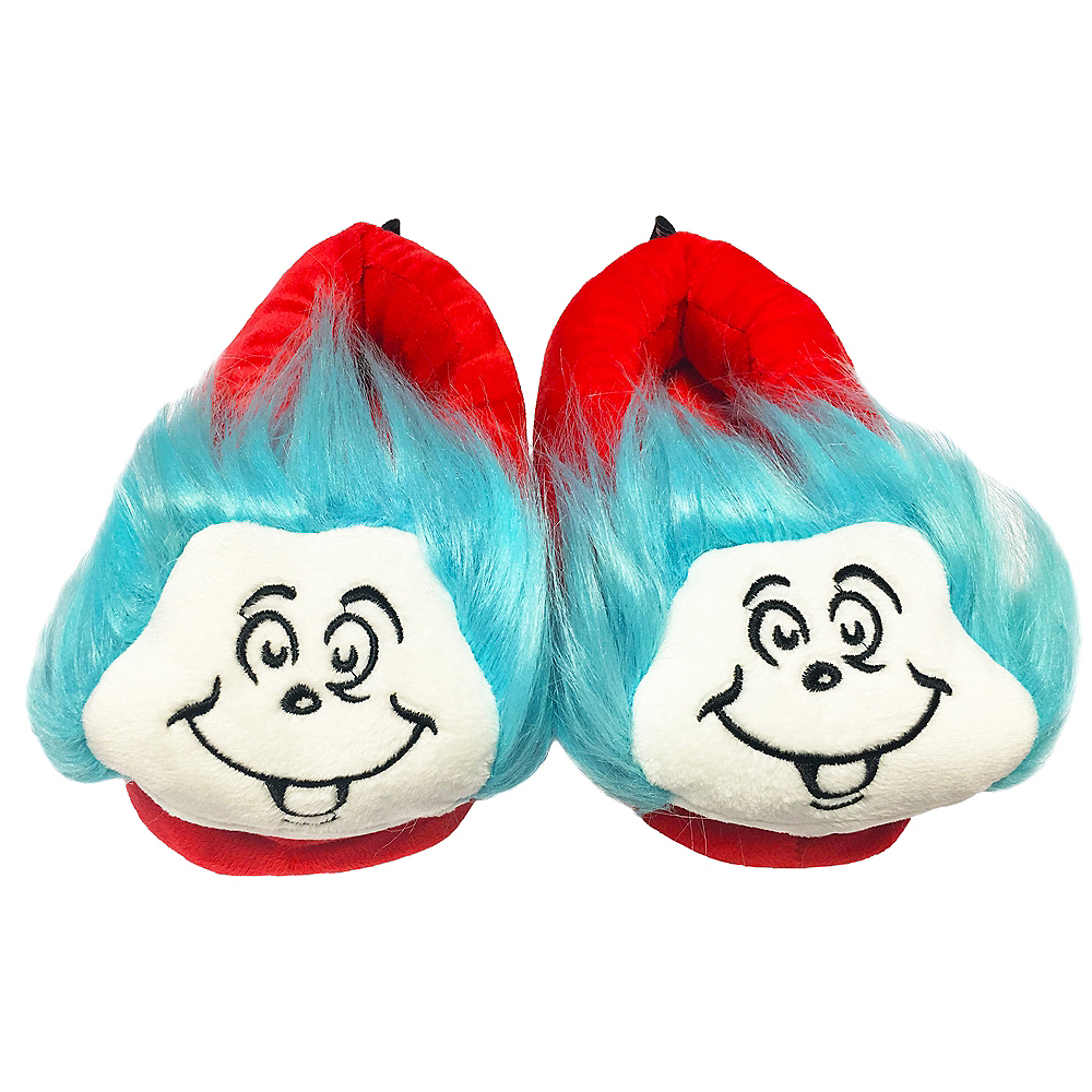 Red Thing 1 & 2 Slipper Shoes - Dr. Seuss Image #1
